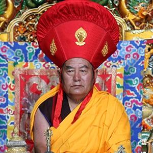 GYALWA DRIKUNGPA KYABGON CHUNGTSANG - His Holiness the Drikung Kyabgön Chungtsang, the 36th throne holder of the Drikung Kagyu Lineage and the 8th reincarnation of the Chungtsang Rinpoche is a manifestation of Manjushri.