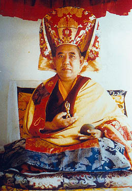 HIS EMINENCE CHOJE TOGDEN RINPOCHE - His Eminence Togden Rinpoche is the Choje (Dharma Master), and the spiritual leader of the Drikung Kagyu Tradition in Ladakh.