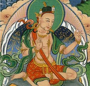 Tingdzin Zangpo was the first abbot of Samye Monastery and have been credited for suggesting the king to invite Padmasambhava to Tibet.
