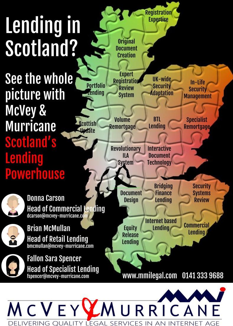 Lending in Scotland Advert for McVey and Murricane