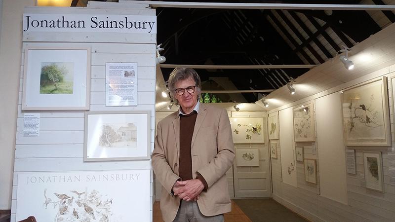 Jonathan Sainsbury, Ark for Nature, Perthshire Open Studios 2018, St Serf's Church, Comrie