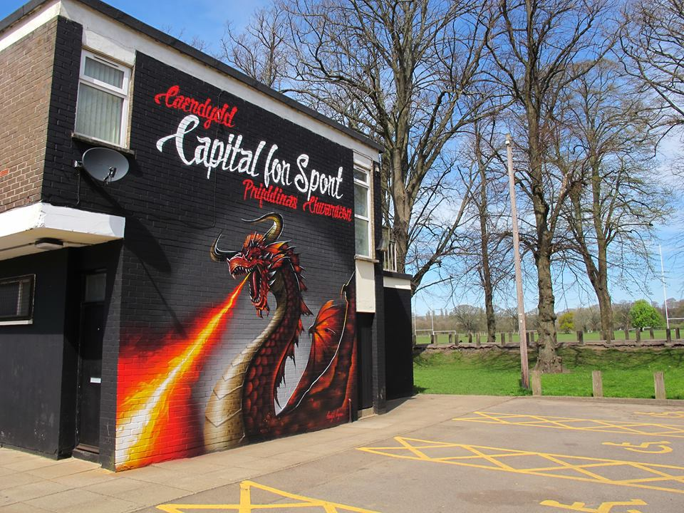 Cardiff Capital for sport mural