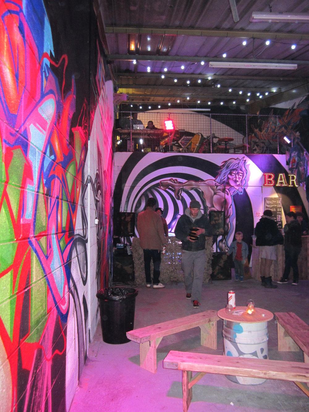 ILC Crew Graffiti Art Exhibition