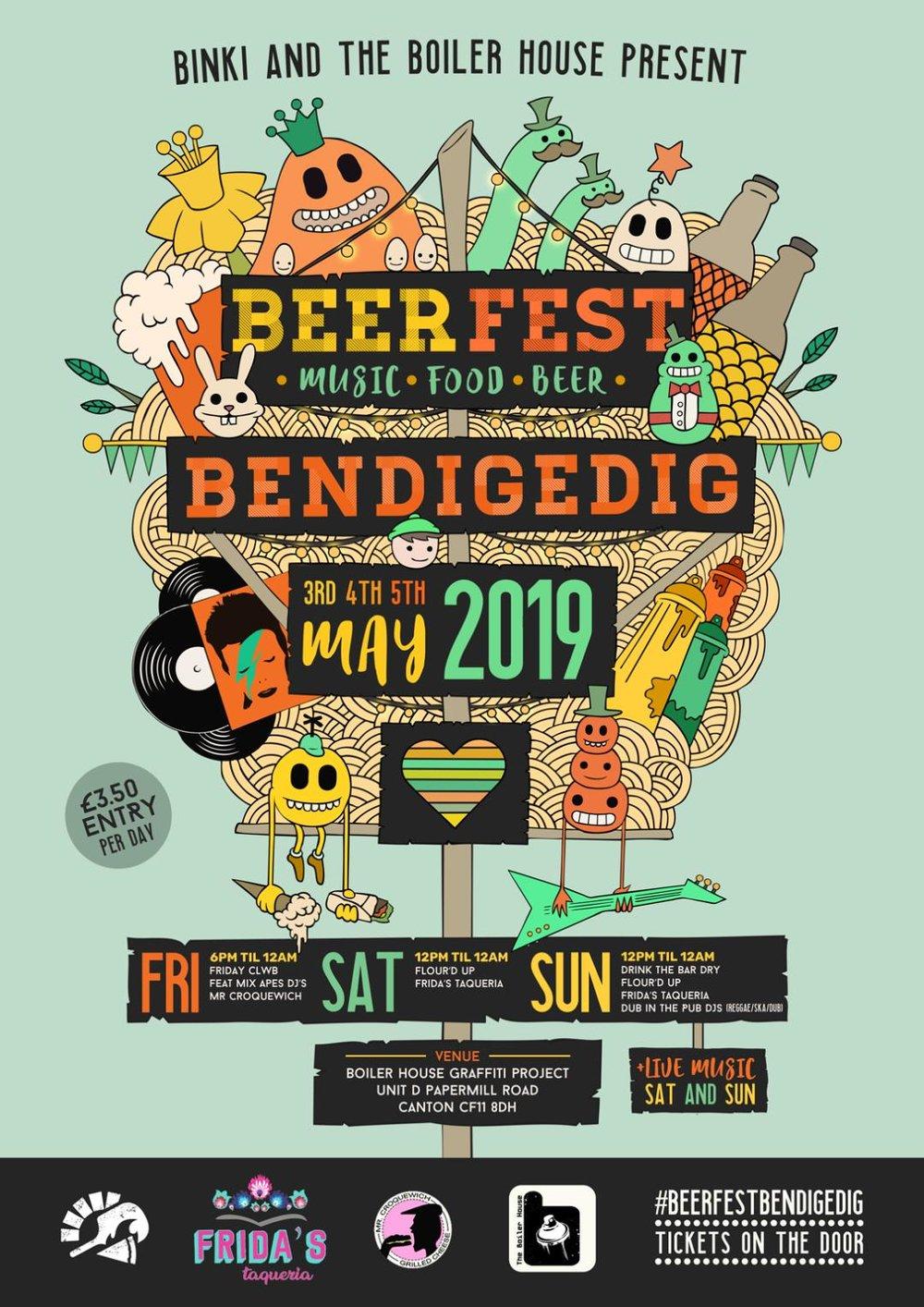 Beer Fest Bendigedig