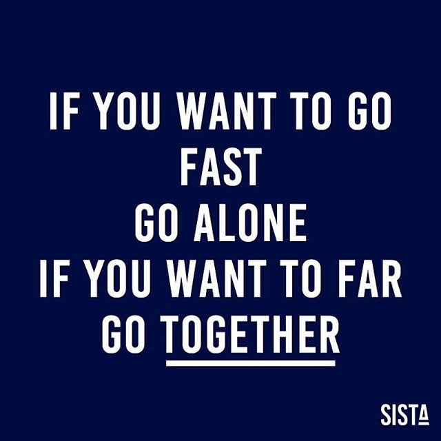 If you want to go #fast, go alone. If you want to go far, go #together. 1000 mercis pour cette incroyable semaine de lancement ! Notre tribune est dans @lesechos @lemondefr @forbes_fr @ellefr @timetosignoff ... Merci aussi pour vos projets, votre énergie & vos anecdotes ! Inscrivez vous sur le site pour suivre les prochaines étapes de #SISTA 💪🏽💙 . . . #sista #wearesista #sorority #women #entrepreneur #entrepreneurlifestyle #business #bethechange #bethechangeyouwanttosee #life #entrepreneure #tribune #crazyweek