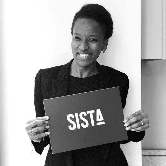 Meet Fatoumata Ly Co-founder #yourewelcomeapp and SISTA's advocate. 💙✊🏽 . . . #sista #wearesista #sorority #women #entrepreneur #entrepreneurlifestyle #business #divas #dramas #bethechange #bethechangeyouwanttosee #life #entrepreneure