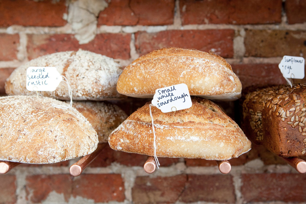 BREADS - From long fermentation sourdough loaves with a real depth of flavour, to our traditional classic white farmhouse, ciabatta and focaccia loaves.