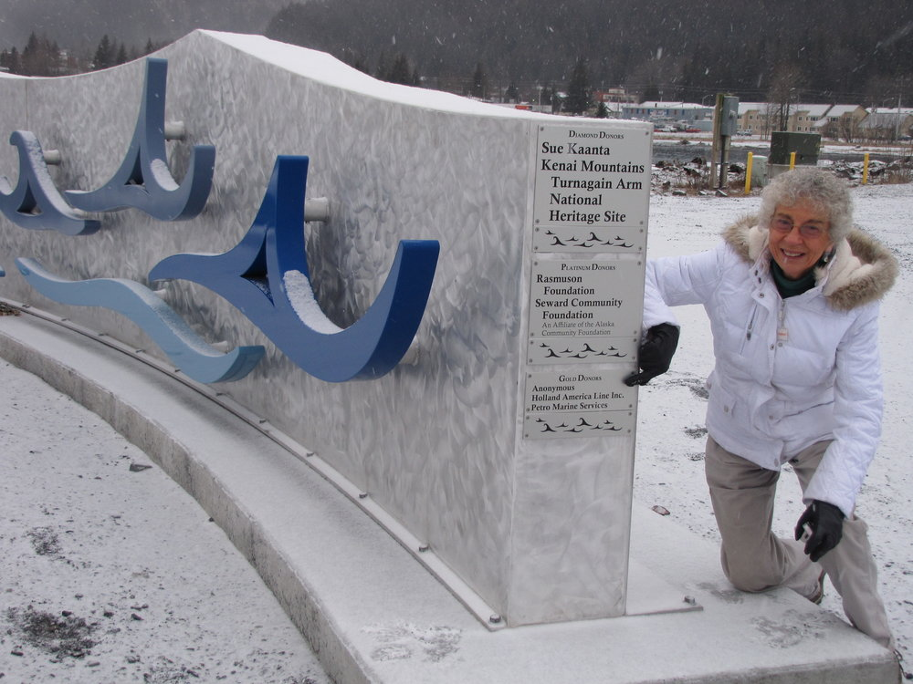 Wave Wall Seward Mariners Memorial