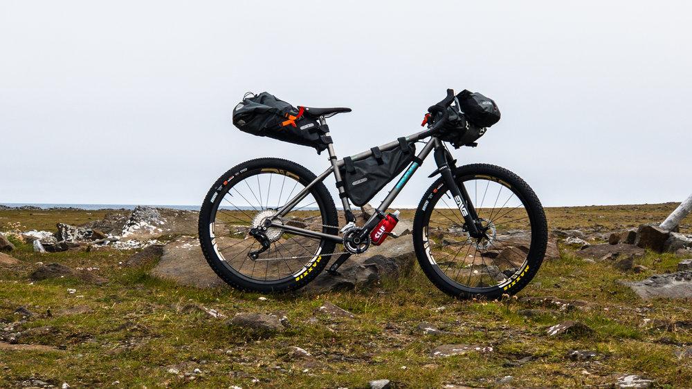 Moots Baxter Evne G Bike Packing