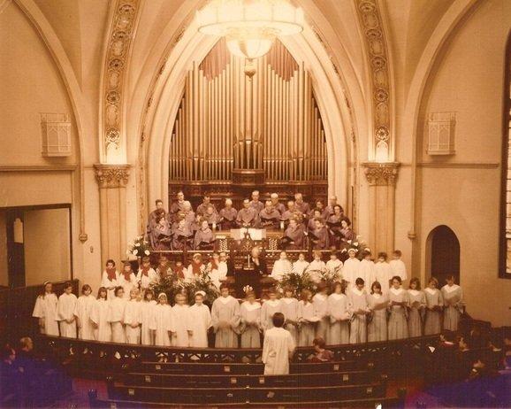 Methodist Episcopal Church Interior