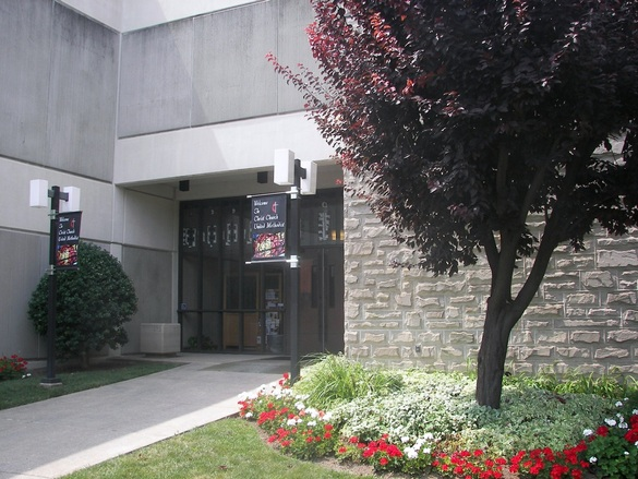 Morris Street entrance