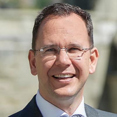 Dr. Sebastian Friess   President of the Bern Economic Development Agency