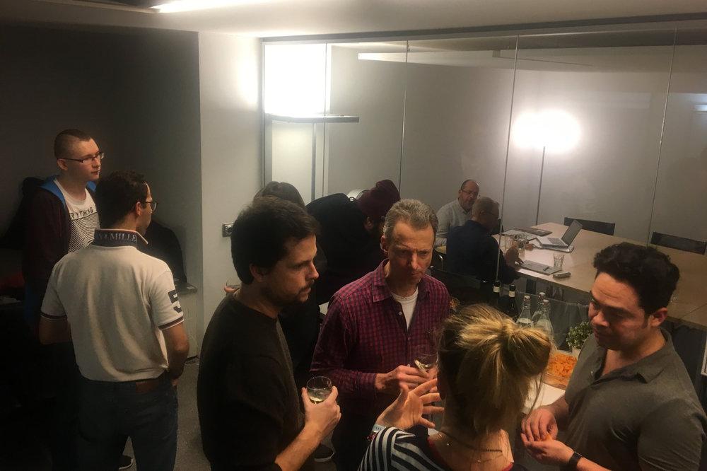 Incubator launch event at Impact Hub Lausanne