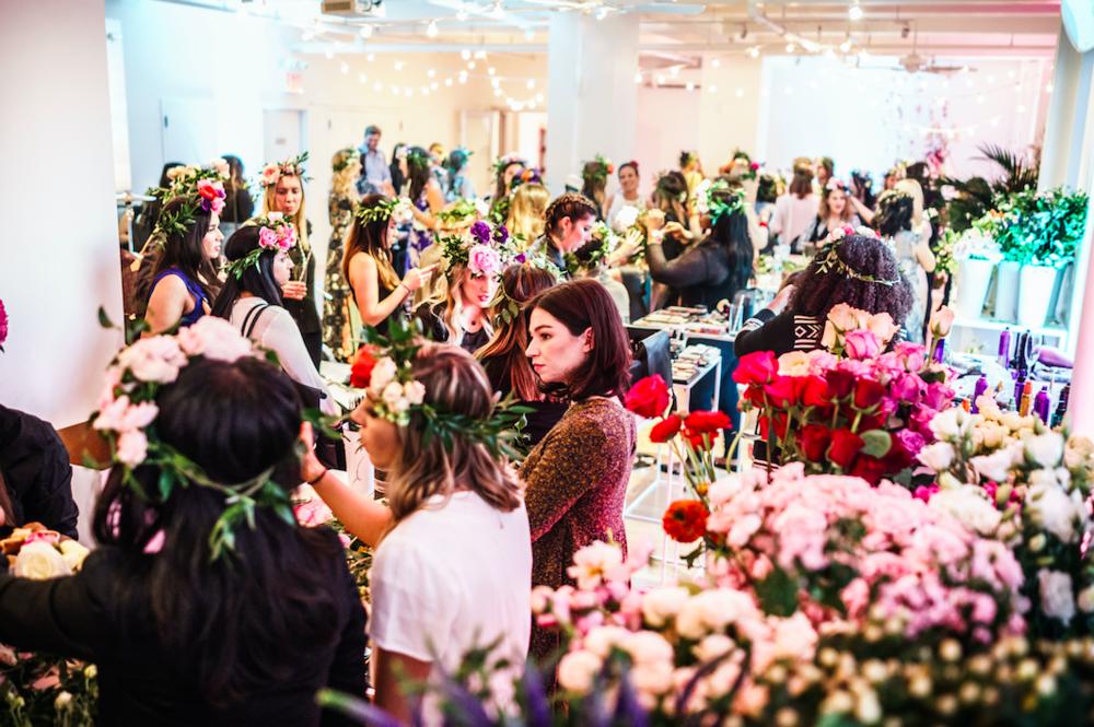 B Floral's Coachella Media Event