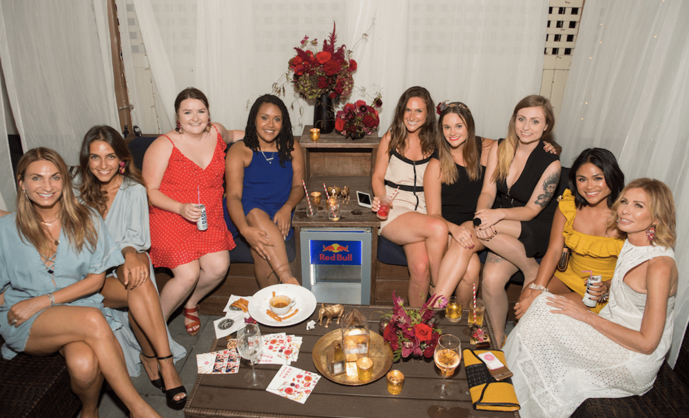 Some of the fabulous women behind B Floral + attendees of the B Floral Circus Soirée media event