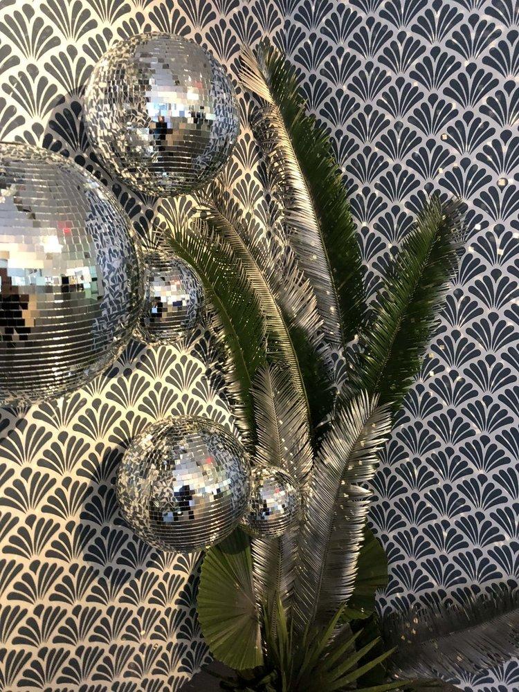 Disco Ball Install Details- B Floral