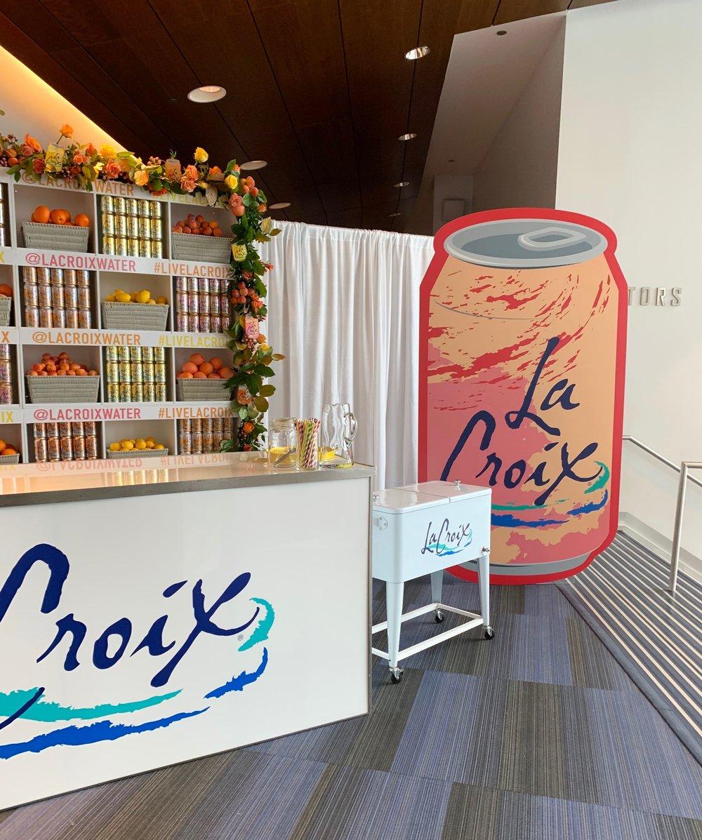 LaCroix Food Festival Installation- B Floral