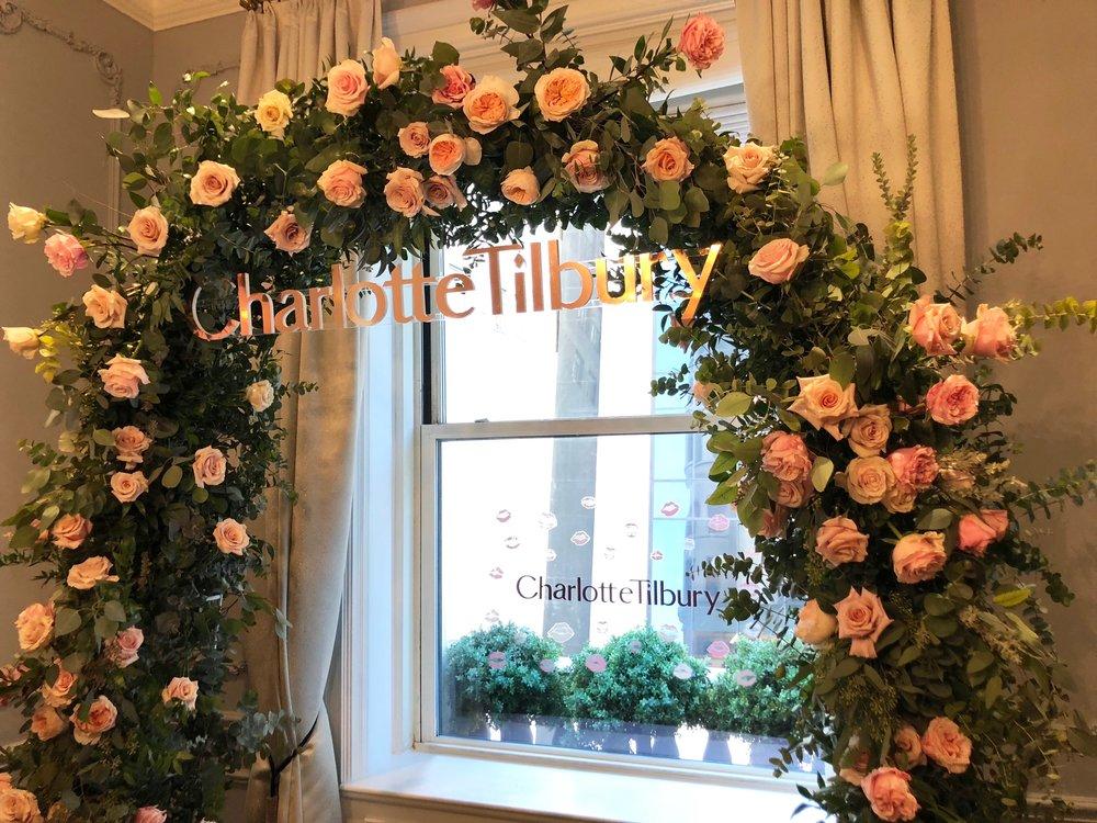Charlotte Tilbury Arch Installation- B Floral