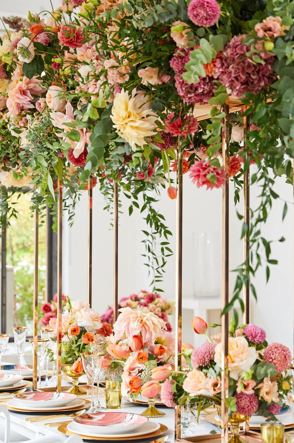 Flower Canopy Details- B Floral