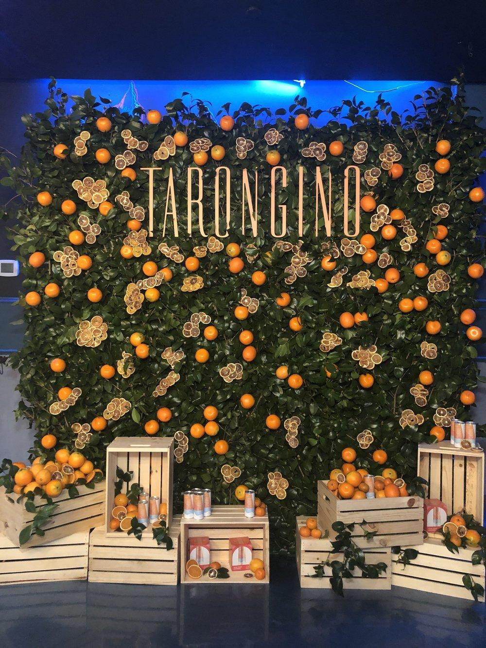 Tarongino USA Orange Photo Wall- B Floral