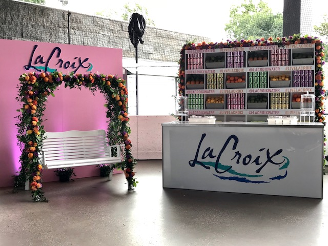 LACROIX BRANDED BAR - B FLORAL
