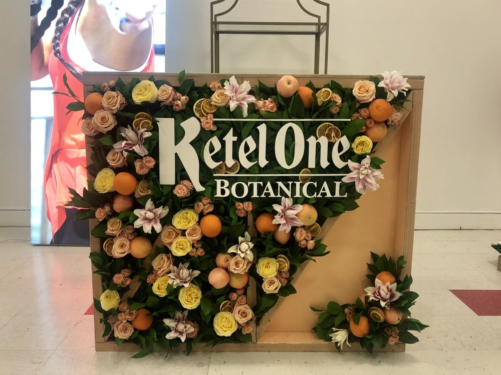 KETEL ONE BRANDED BAR - B FLORAL