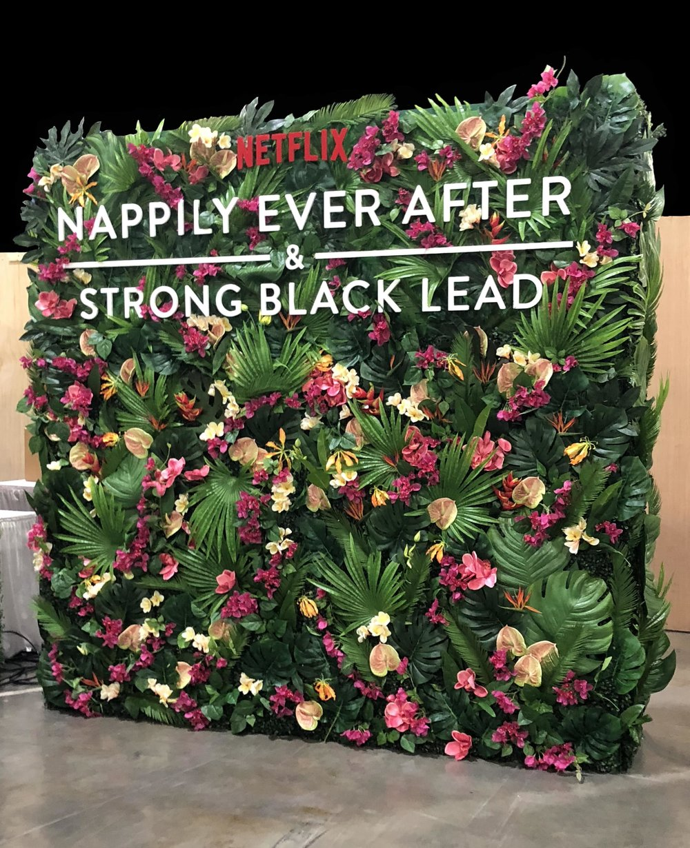 CASHMERE AGENCY - NETFLIX - NAPPILY EVER AFTER - INFLUENCER PARTY - B FLORAL