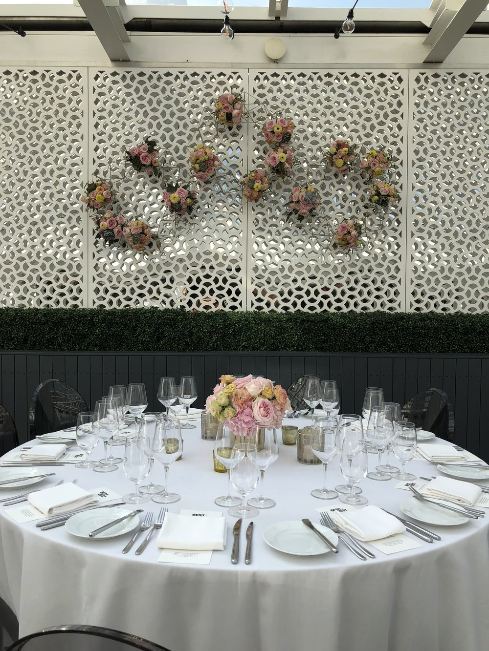 BLOOMINGDALES - AWARDS DINNER - SPRING TABLESCAPE 2019 - B FLORAL