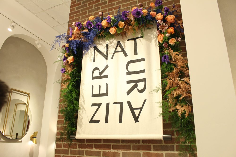 Naturalizer Store Opening Installation - B Floral