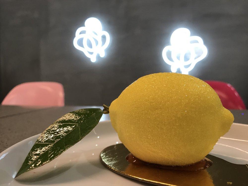 L Room Cafe Lemon Dessert - B Floral