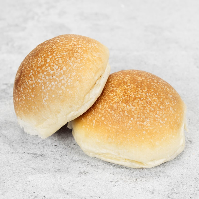 WHITE SOFT ROLLS  Baked using a focaccia dough incorporating rapeseed oil for a soft, springy texture.