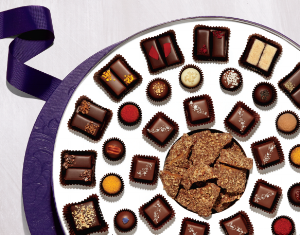 A gift set from Vosges Haut Chocolat