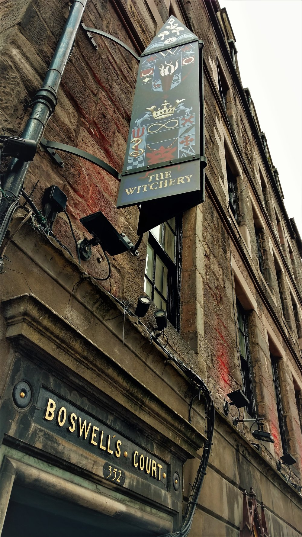 Live like a royal one block from Edinburgh Castle at The Witchery for a few days.  You'll remember it for the rest of your life .