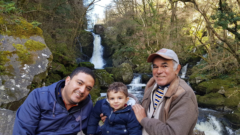 Devils Glen and our family from Brazil