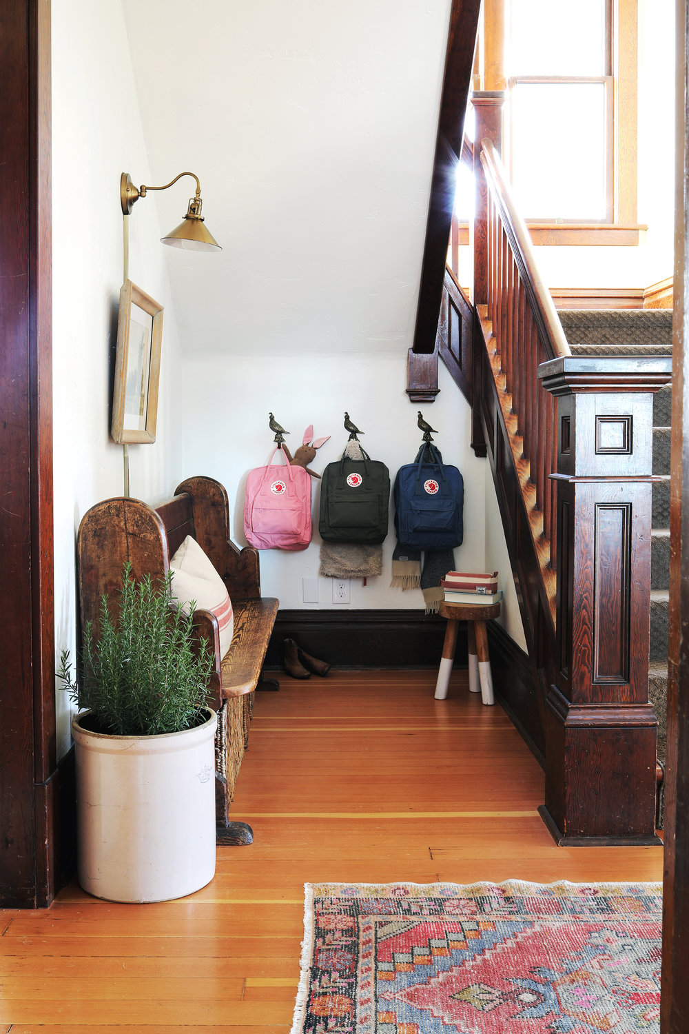 Entryway Staircase