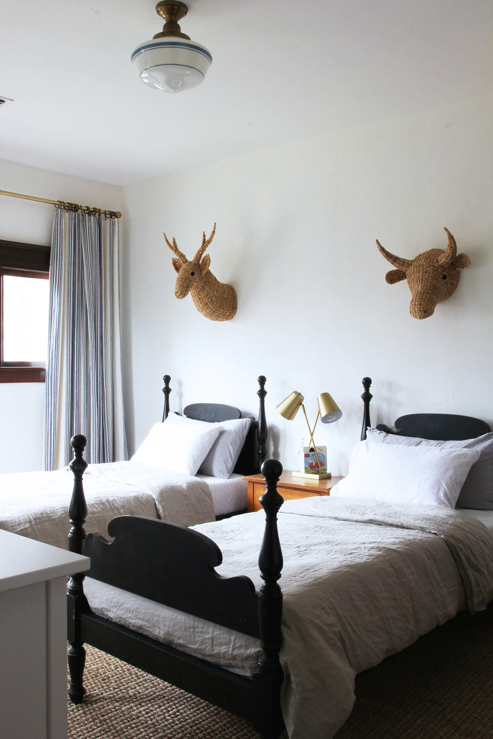 The Grit and Polish - Farmhouse Boys Room Beds.jpg