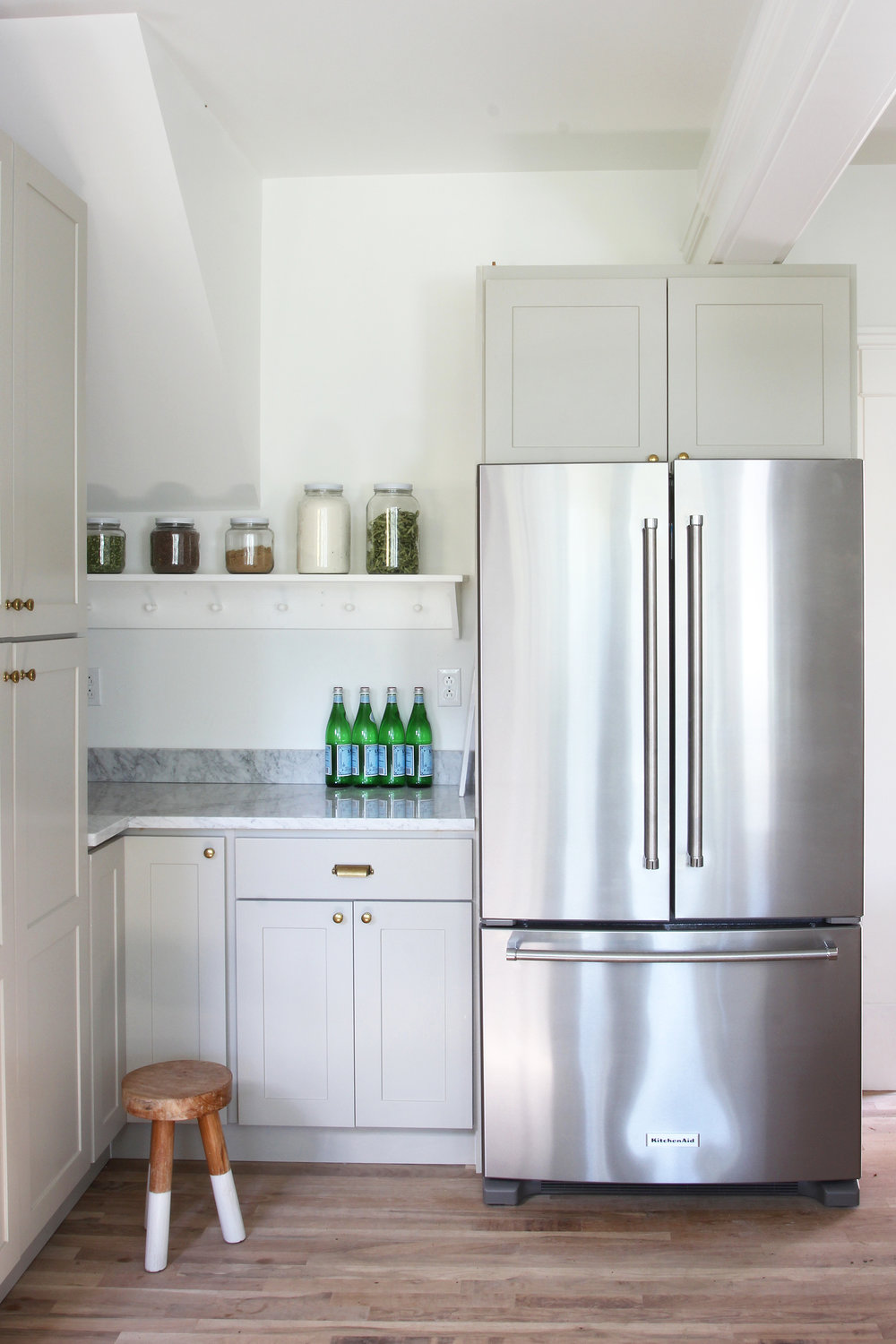 The Grit and Polish - Porch House Kitchen Aid Fridge.jpg