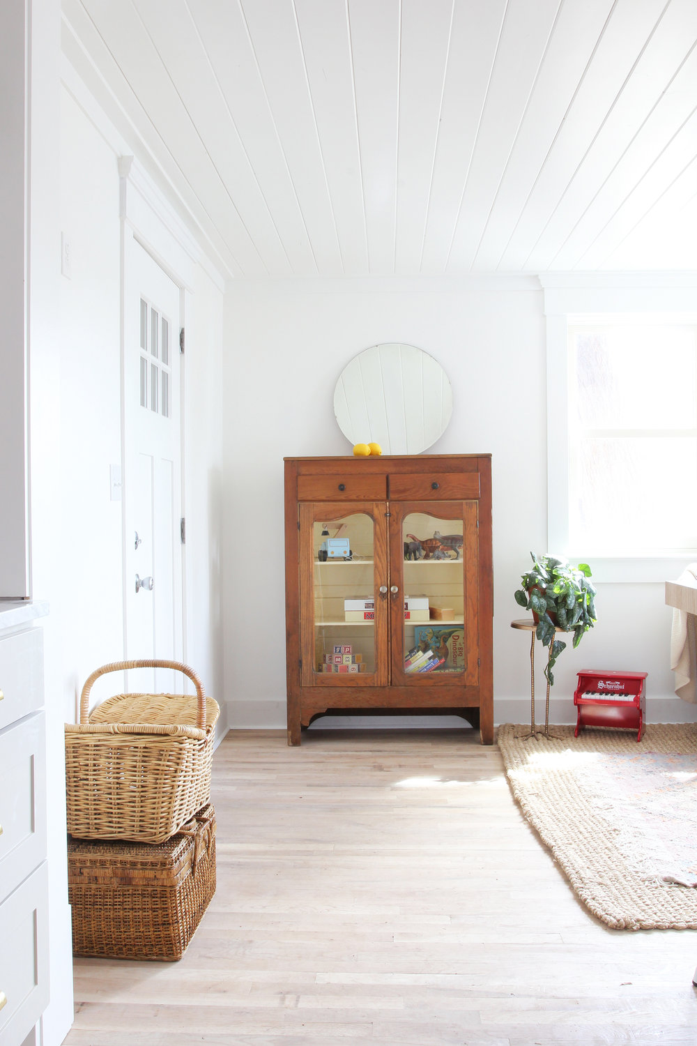 The Grit and Polish - Porch House Sunroom Hutch.jpg