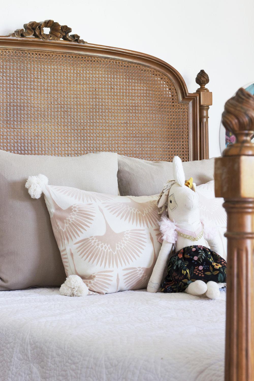 Bird Pillow Fabric
