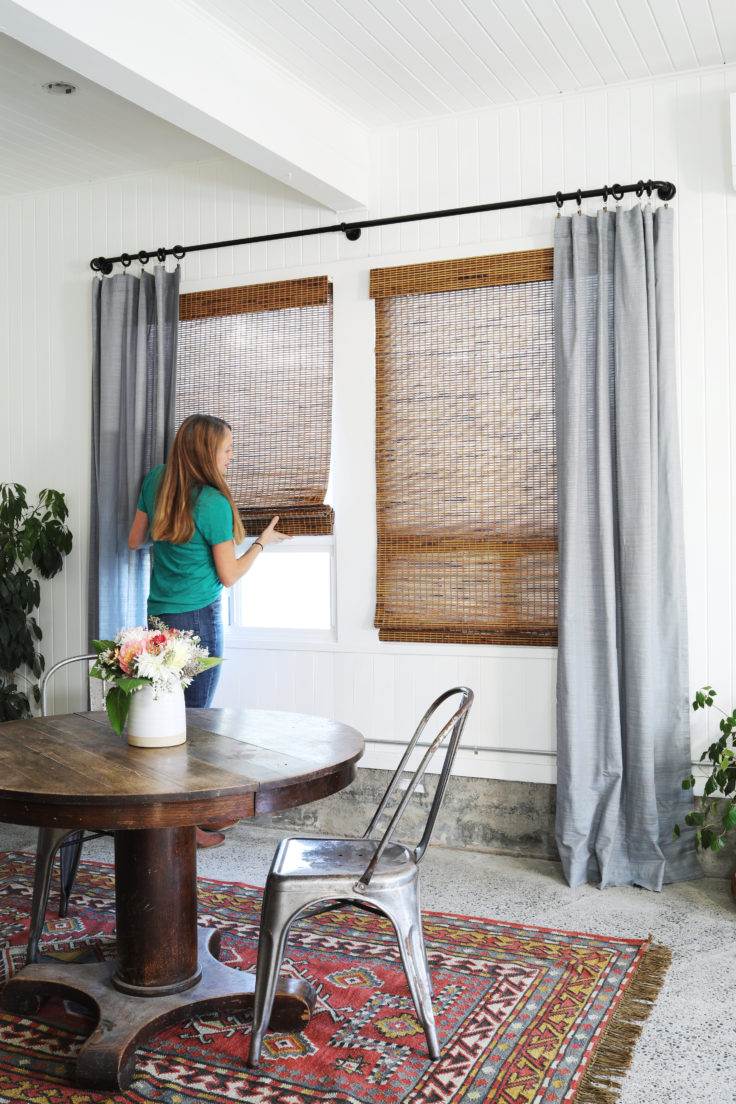 Tacoma Converted Garage // Window Treatments with Lowe\'s (+ ...