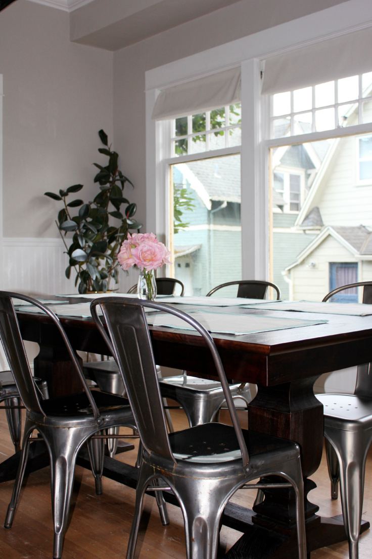 The Grit and Polish - Dining Room table 2