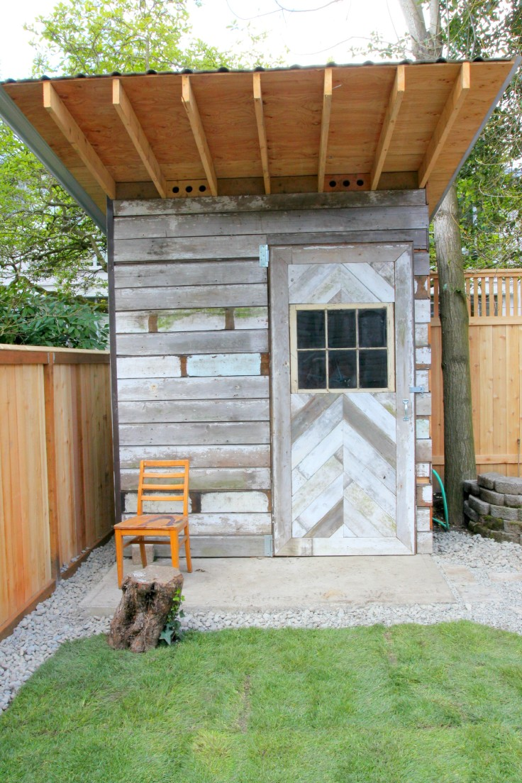 The Grit and Polish - Backyard Shed