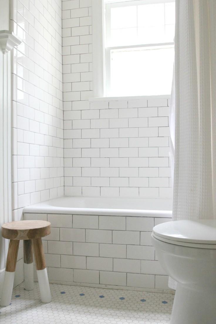 Bathroom Antique Tub After Refinish