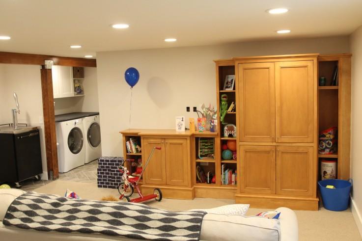 Basement Paint and Carpet
