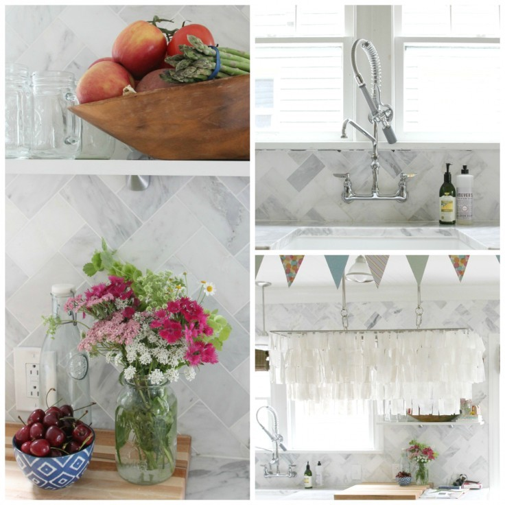 Kitchen Details Collage