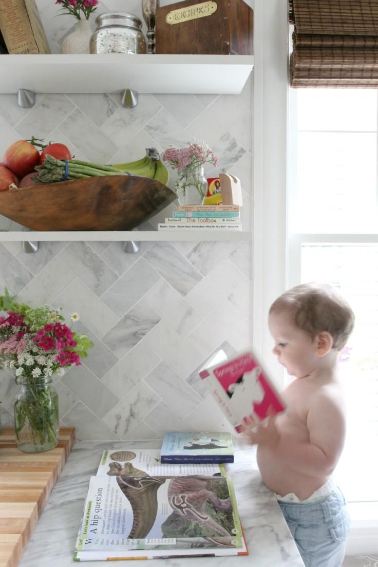 Kitchen - Wilder reading at Bench