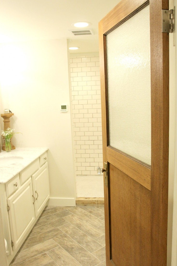 The Grit and Polish - Basement Bathroom Remodel 1