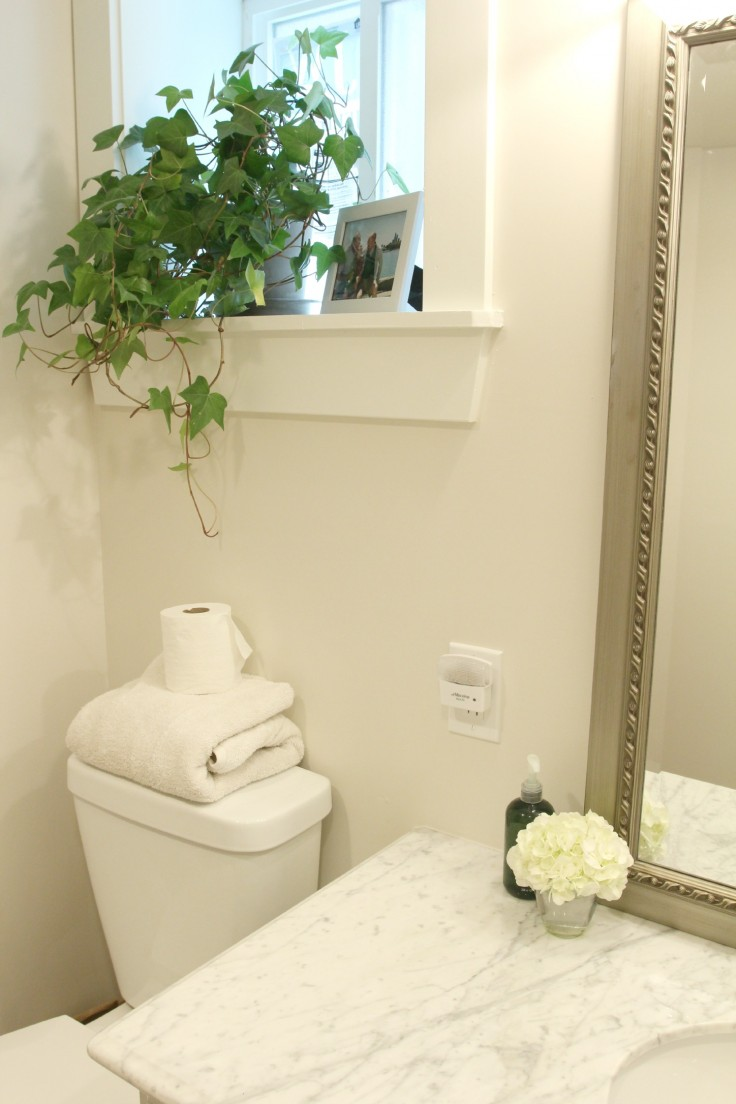 The Grit and Polish - Basement Bathroom Remodel 2