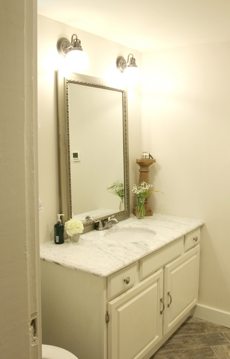 The Grit and Polish - Basement Bathroom Vanity
