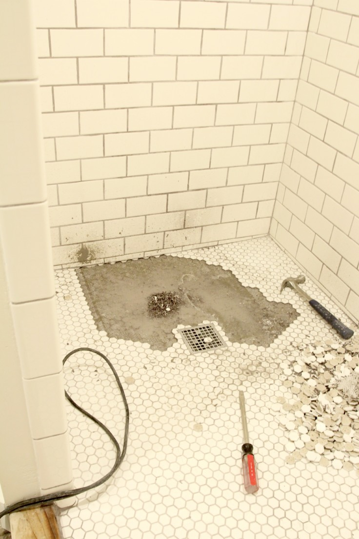 If At First You Don T Succeed A Shower Floor Tale The Grit And Polish